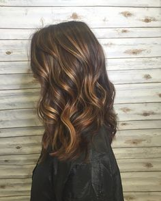 Hair : Balayage : Ombre : Golden : Warm : Caramel Balayge