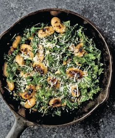 Pan-Fried Butter Beans and Greens