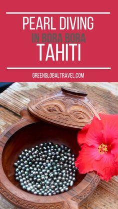 Read about pearl diving in Bora Bora!   Tahiti   Tahitian Black Pearls   Oysters  