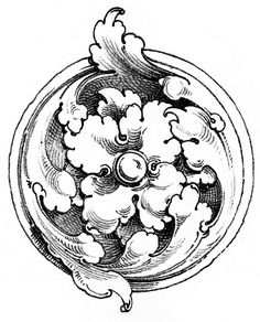 This is a collection of 12 Beautiful Medallion Clip Art Images. These Antique Medallion illustrations are all done in black and white and are very ornate! Graphics Fairy, Motifs Art Nouveau, Architecture Antique, Gravure Illustration, Protection Symbols, Ornament Drawing, Metal Engraving, Carving Designs, Ornaments Design