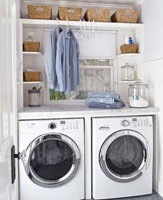5 clever organizational tips to tidy up the laundry room   HellaWella