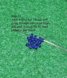 . . . . . . Queenie's Beads: Beaded Bead - Seed Bead Berry