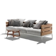 Canapé extérieur Flexform ANSEL Outdoor Sofa, Indoor Outdoor, Outdoor Furniture, Outdoor Decor, Bureau Design, Muuto, Kartell, Home Decor, Ant Chair