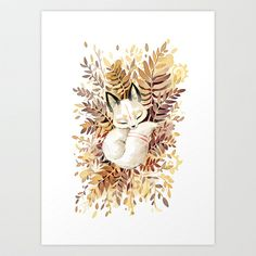 Slumber Art Print by Freeminds - $18.72