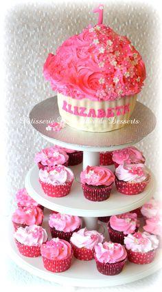 Cupcakes tower  Tour de cupcakes