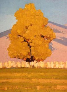 "Jeffery  Pugh - ""Autumn Palette"" Oil 12 x 16 in"