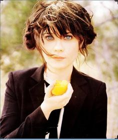 """Zooey Deschanel """"I'm just being myself. There is not an ounce of me that believes any of that crap that they say. We can't be feminine and be feminists and be successful? I want to be a  feminist and wear a Peter Pan collar. So  what?"""""""
