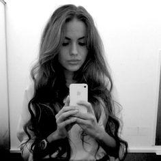 Hair. It looks best on girls when it's long :)