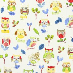 Ollie Owl - Paintbox
