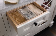 Moveable Drawer Dividers | Wood-Mode | Fine Custom Cabinetry