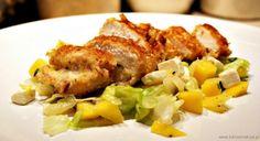 Przepis na Filety z kurczaka z serem pleśniowym | Mięsa | Biblia Smaków
