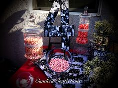 40thbirthday party by Candied Confections