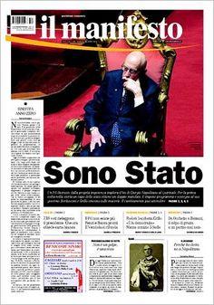 Il Manifesto - Copertina del 21.4.2013