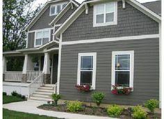 Exterior House Colors Grey #home #decor