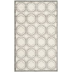 Safavieh Amherst Indoor/ Outdoor Ivory/ Light Grey Rug (3' x 5') | Overstock.com Shopping - Great Deals on Safavieh 3x5 - 4x6 Rugs $47