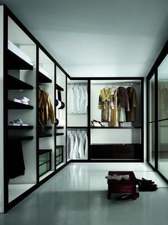 Sipario Italian Closets from www.europeancabinets.com|Modern closet cabinets,wardrobes,wardrobe,closet organizer,modern closets San Francisc...