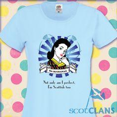 Retro Ma Tartan T-Shirt. Free worldwide shipping available