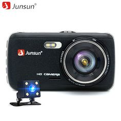 Junsun 4.0 Car DVR Camera Dual Lens with LDWS ADAS Rear view Night vision FHD 1080P Video Recorder Registrator car dvrs dashcam (32810249385)  SEE MORE  #SuperDeals