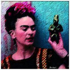 Recordando a Frida Kahlo.