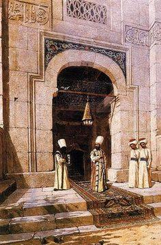 Osman Hamdi Bey - Camiden çıkan sultan