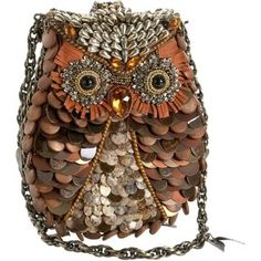 Mary Frances Accessories What A Hoot Shoulder Bag $265