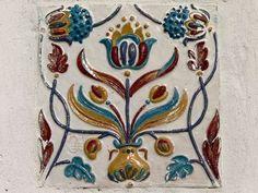 Плитки собора Иоанна Предтечи Алексеевского монастыря в Угличе. 1681 г.