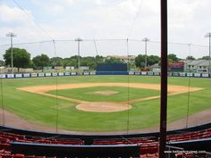 Chain o' Lakes park Winterhaven Florida. Old spring training grounds to the Cleveland Indians.