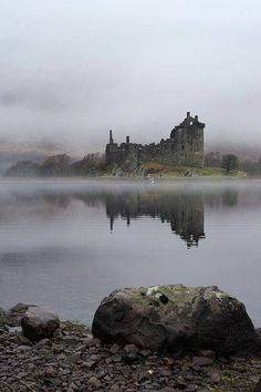 Campbell's kingdom. Kilchurn Castle, Scotland, was built in the mid-1400s by Sir Colin Campbell, 1st Lord of Glenorchy. From The Vintage News