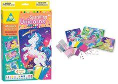 Sticky Mosaics  Unicornios Brillantes
