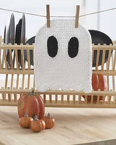 Ravelry: Ghost Dishcloth pattern by Lily / Sugar'n Cream