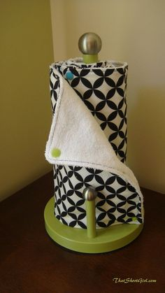 That Short Girl's Blog: Reusable Paper Towel Tutorial