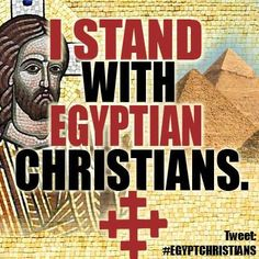 Pray for the safety of the Christian communities in Egypt and all over the Middle East. Religion, Persecuted Church, Pray For Us, Walk By Faith, Prayer Warrior, Prayer Request, Kirchen, That Way, Bible Verses