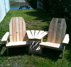Wood / Pallet , Chairs