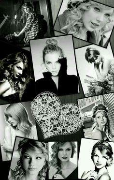 Taylor Swift- black & white mash up/ the best mash up I have seen so far