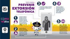 #TipsSSPDF para prevenir la extorsión telefónica no proporciones datos personales o familiares a desconocidos.