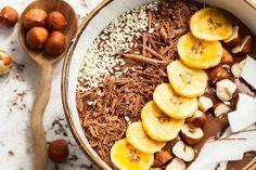Smoothie bowl au chocolat ou comment transformer son smoothie en un repas hyper tendance