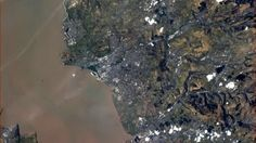 Cardiff from space - ITV News