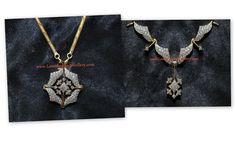 convertible diamond necklace cum pendant