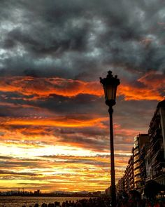 We love truly only when we love without reason Thessaloniki, When Us, Our Love, Greece, Clouds, Sky, Urban, Sunset, Awesome