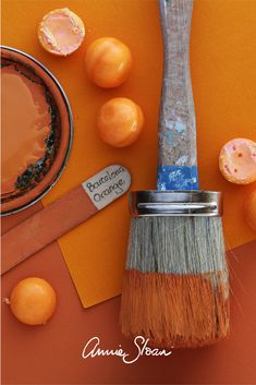 Annie Sloan is perhaps the world's most respected expert in decorative paint, colours and techniques. She has written over 20 books on the subject and developed her own range of decorative paint called Chalk Paint® in Annie Sloan Painted Furniture, Annie Sloan Paints, Furniture Update, Diy Furniture, Annie Sloan Chalk Paint Barcelona Orange, Painting Inspiration, Color Inspiration, Palette, Painting Techniques