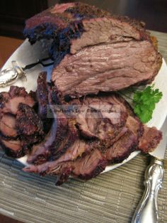 Oven Roasted Grass-Fed Beef Brisket