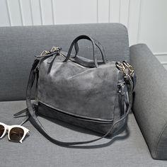 Color mate de la vendimia nubuck cuero de LA PU bolsas de hombro crossbody de las mujeres de alta calidad bolsos de las señoras medio señora messenger bag