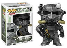 Amazon.com: Funko POP Games: Fallout - #49: Power Armor: Funko Pop Games: Toys & Games