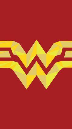 Wonder woman, logo, artwork, 720x1280 wallpaper