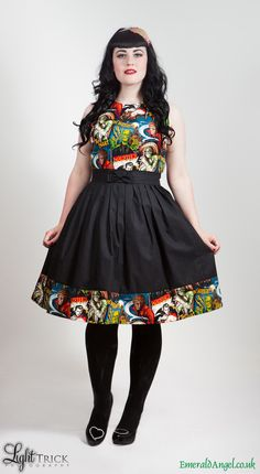 horror movie monsters summer dress.
