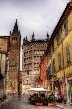 Parma. by @Kimberly Robinson Montrasio Jakob Montrasio 孟亚柯, via Flickr, province of Parma, Emilia Romagna region Italy