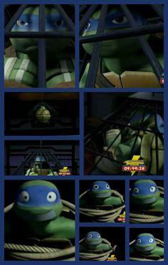 And this is what happens when no-one listens to you :\ Ninja Turtles 2014, Tmnt Turtles, Teenage Ninja Turtles, Tmnt Leo, Leonardo Tmnt, Tmnt 2012, Girl Meets World, Digimon, Sailor Venus