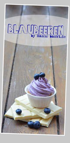 Dreierlei Cupcakes… die pure Dröhnung aus Himbeere, Blaubeere und Banane
