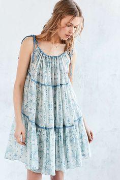 Carolina K Three-Way Halter Skirt-Dress - Urban Outfitters