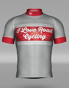 1a3f5f720 WOMENS I Love Road Cycling SPOKES Cycling Jersey